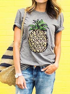 80 best Tshirteria images on Pinterest   Woman fashion, White tee ... 6ef9b83e87b9