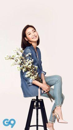 Kim Go Eun Style, Kim So Eun, Kim Ji Won, Korean Actresses, Korean Actors, Actors & Actresses, Korean Star, Korean Girl, Korean Beauty