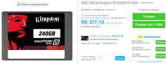 SSD 240GB Kingston SV300S37A V300 >