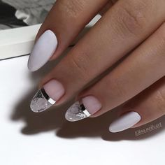 The Effective Pictures We Offer You About french Manicure A quality picture can tell you many things. You can find the most beautiful pictures that can be presented to you about Manicure elegante in t Gradient Nails, Holographic Nails, Matte Nails, Stiletto Nails, My Nails, Coffin Nails, Acrylic Nails, Marbled Nails, Acrylic Art