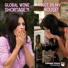 Sources say there's a global wine shortage on the horizon. (Oops! We might have something to do with that.) #SorryNotSorry #SipHappens