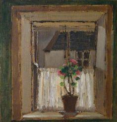 DEREK HILL Grace Dixon's Window, Tory Island (Toraigh), County Donegal, Ireland (1979)