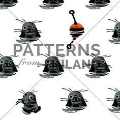 Poiju by Hanna Ruusulampi #patternsfromagency #patternsfromfinland #pattern #patterndesign #surfacedesign #printdesign #hannaruusulampi
