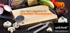 New Year's resolutions for Kitchen Rockstars.