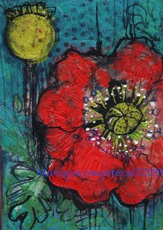 red-poppy. Maria Pace-Wynters