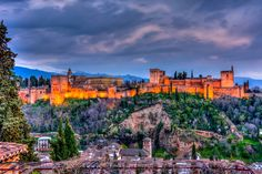 Alhambra, Granada Sunset