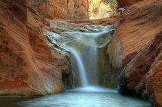 Red Cliffs Waterfall [Explored]  Red Cliffs Recreation Area, St. George, Utah