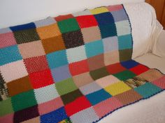 Funky Retro 70s Boho Hippie Crocheted Afghan by DragonflyGypsySoul, $26.00