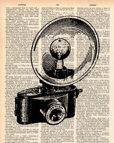 Vintage Dictionary Camera