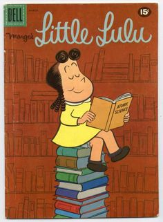 I love little lulu. My mom gave me old comics as a kid and I liked her much better than stupid Betty and Veronica Old Comic Books, Free Comic Books, Vintage Children's Books, Comic Book Covers, My Books, Classic Comics, Classic Cartoons, Retro Cartoons, Old Comics