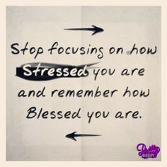 A great reminder! It's a total game changer in your own head when we count blessings over all else. #blessed