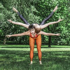 Strong people don't put others down… They lift them up. – Michael P. Watson #acroyoga #acro #yoga #secondyou #strongwomen