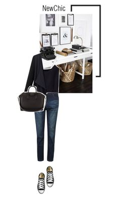 """Newchic"" by s-thinks ❤ liked on Polyvore featuring Givenchy and Converse"