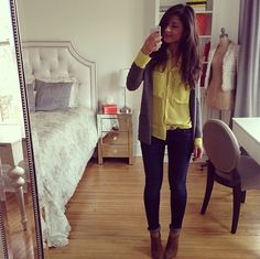 This girl has nailed it for fall outfits... I love her room that she posts all her pics from too!