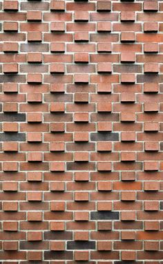 50 Ideas Wall Texture Brick Architecture For 2019 Wall Texture Patterns, Brick Patterns, Wall Patterns, Wall Textures, Detail Architecture, Brick Architecture, Brick Design, Facade Design, Wall Design