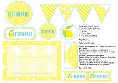 Printable citronnade