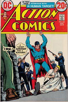 Action Comics Vol 1 423 Superman Action Comics, Superman Comic, Marvel Comics, Batman, Spiderman, Comic Books For Sale, Dc Comic Books, Comic Book Covers, Classic Comics