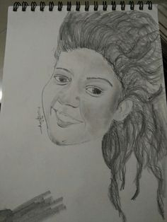 Potrait sketch, girl potrait, beauty sketch, my art, illustration