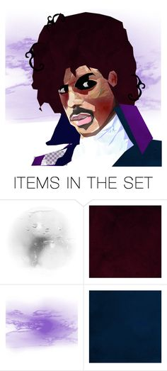 """""""R.I.P. Prince"""" by theamaia ❤ liked on Polyvore featuring art"""