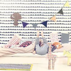 Ferm Living // my scandinavian home: Cute Danish children's bedroom inspiration Baby Decor, Kids Decor, Rooms Decoration, Room Decor, Deco Kids, Kid Spaces, Kids Bedroom, Childrens Bedroom, Baby Kids