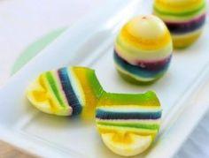 Huevos de Pascua de gelatina
