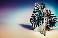 Nicki Minaj by Francesco Carrozzini for Roberto Cavalli's 2015 Spring/Summer Advertising Campaign