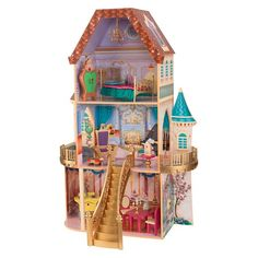 KidKraft Disney Beauty and the Beast Enchanted Dollhouse : Target