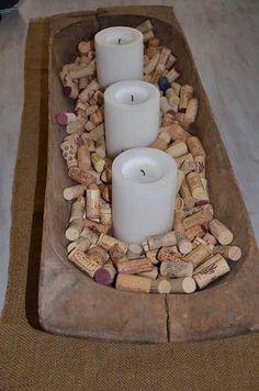 decorar centro velas
