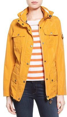 Barbour 'Bowline' Hooded Waterproof Jacket