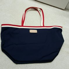 "⚡Sale⚡Kate Spade nylon canvas tote bag Pre-loved. In excellent condition.   About 10"" x17"" kate spade Bags Totes"