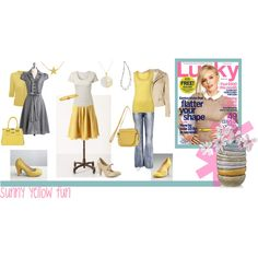 Sunny yellow for spring.