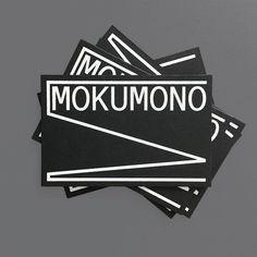 "Gefällt 160 Mal, 1 Kommentare - @mainstudio auf Instagram: ""new identity mokumono #cards #mokumonocycles #systemdesign #dynamic #identity #typography"""