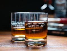 Whiskey Lovers Engraved Personalized Whiskey Glasses (Set of Good Whiskey, Bourbon Whiskey, Whiskey Girl, Bourbon Drinks, Whiskey Image, Sweet Bourbon, Scotch Whisky, Bourbon And Boots, Whiskey Brands