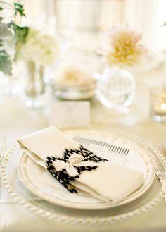 lace napkin bands