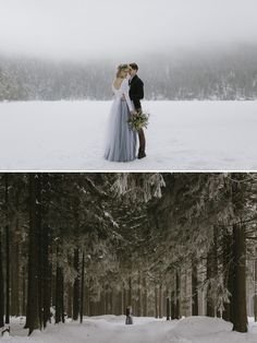 Most Popular Weddings of 2017 - secret snowy winter wedding in czech republic     #2017weddingtrend