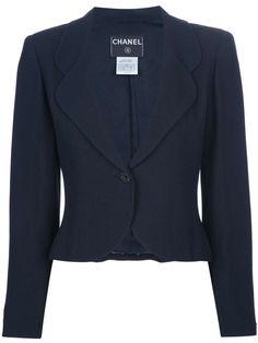 Chanel Vintage long sleeved blazer