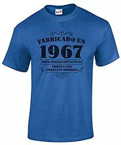 Camiseta de hombre para regalo de 50 cumpleaños Manufactured 1967