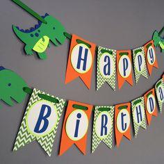 Chicos cumpleaños Banner decoraciones de cumpleaños por wittypaper