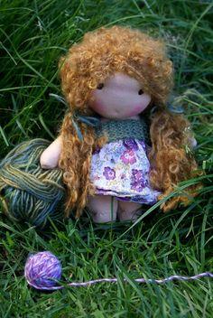 Waldorf doll pattern pocket doll pattern steiner by tillytilda