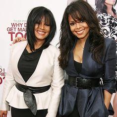 Janet Jackson and Rebbie Jackson