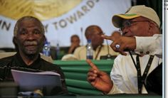 Thabo Mbeki and Jacob Zuma South African Politics, Jacob Zuma, Political Figures, The Fosters