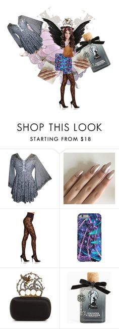 """""""Fall Contest"""" by anastasia-pellerin ❤ liked on Polyvore featuring Commando, Alexander McQueen, Torrid, contest and art"""
