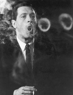 Rock Hudson ring smoking by Leo Fuchs,famous celebrity in film, fashion, art, music,beautiful fame, the wall of fame, collected by marald marijnissen, www.marijnissenfotografie.nl