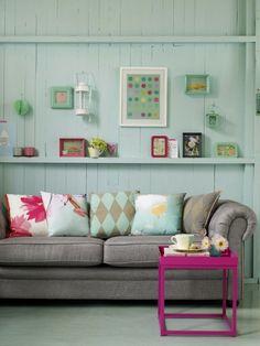 pastellfarben idee zum wohnen kleines wohnzimmer essplatz, Mobel ideea