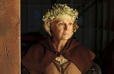 Julie Walters as Mistress Quickly in The Hollow Crown: Henry IV, Part 1.