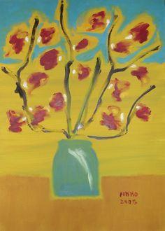 O Vaso 2 - Ano 2005 (70x50 tela)