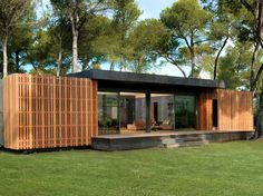 Eins, zwei, wohnen - das PopUp-House aus Frankreich #News #Bauweisen