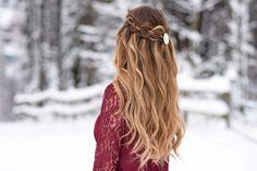 4 Strand Waterfall | Cute Girls Hairstyles