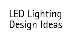 Led Light Design, Lighting Design, Aesthetic Value, Sober, Design Ideas, Mood, Light Design
