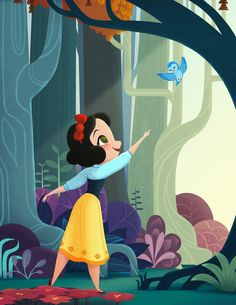 Snow White! A gift for a friend who is truly the fairest of them all :)
